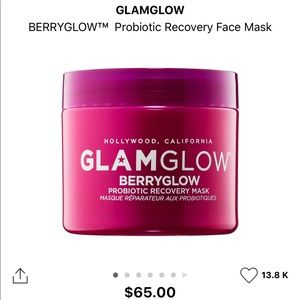 GLAMGLOW probiotic recovery mask